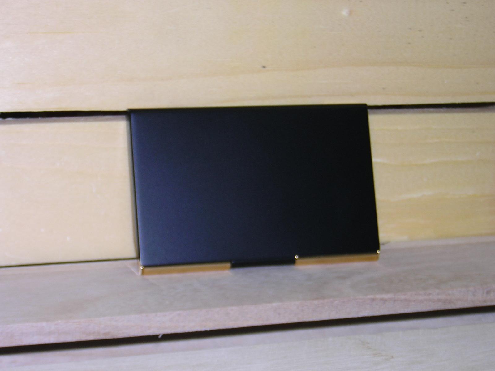 Marathon product 3 black business card holder case colourmoves